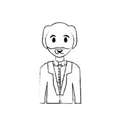 Man cartoon isolated vector image