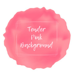 tender pink blur liquid background vector image