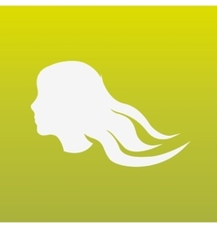 woman silhouette design vector image
