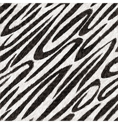 Seamless texture of animal skin vector image