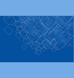 Abstract boxes background vector