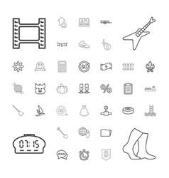 37 design icons vector