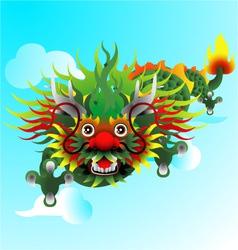 Celestial dragon vector