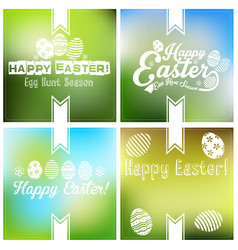 easter card background vector image