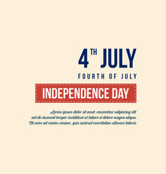 independence day background style collection vector image