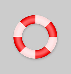 lifebuoy isolated on white background vector image
