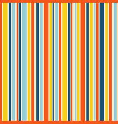 Stripe seamless pattern mid century style vector