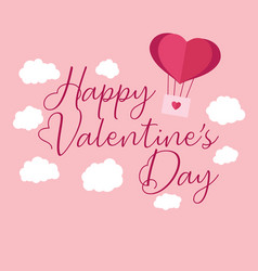 Valentines day background with heart pattern and vector