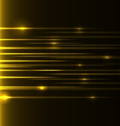 yellow speed laser vector image