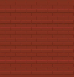 brick wall background - seamless texture vector image vector image