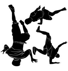 collection breakdance break dance vector image