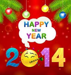 smile idea 2014 vector image vector image