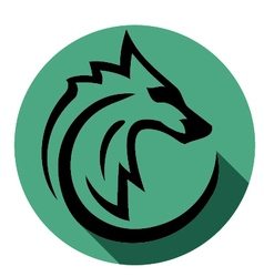 wolf vector image vector image