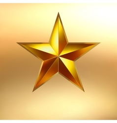 a Gold star background EPS 8 vector image