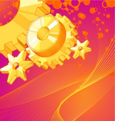 abstract wheel vector image