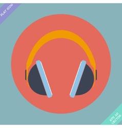 Headphones icon - vector image