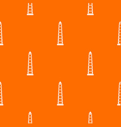 Obelisco of buenos aires pattern seamless vector