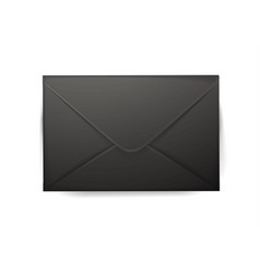 realistic 3d envelope post letter cover vector image