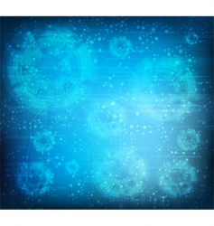 technology theme background vector image