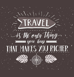travel with direction and vector image