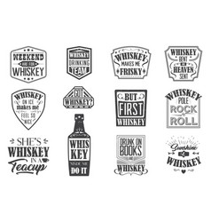 Weekend are for whiskey background vector