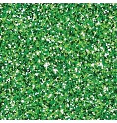 Glitter green seamless texture vector image vector image
