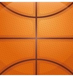 Ball background icon Basketball design vector image