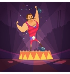 Circus Athlete vector image vector image