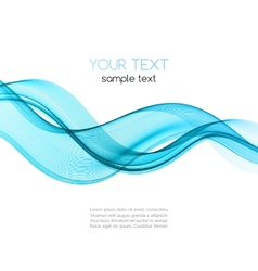 Abstract blue color template background vector