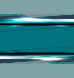 blue template backgrounds vector image