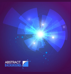 blurry rays abstract background vector image
