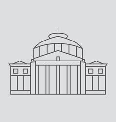 Bucharest vector image