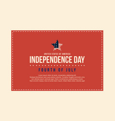 Collection stock of independence day background vector