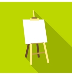 Easel icon flat style vector