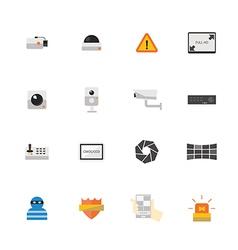 Icon CCTV vector image