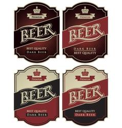 Set beer premium vector
