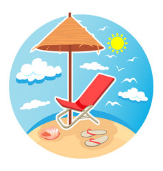 Summer time design4 vector