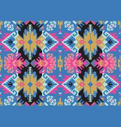 Tribal turkish seamless pattern in bohemian style vector