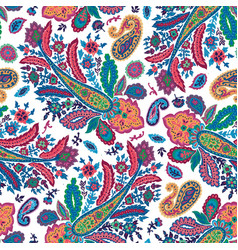 Trippy floral texture abstract flowers and leaves vector