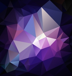 Dark purple violet polygon triangular pattern vector