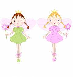 little fairies vector image vector image