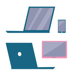 modern electronic devices vector image