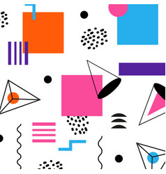 Abstract geomertic - modern material vector