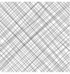 Hand drawn black threads background vector