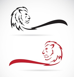 Image of a lion vector