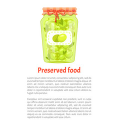 olives preserved food in glass jar icon vector image