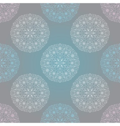 Seamless christmas pastel pattern vector image