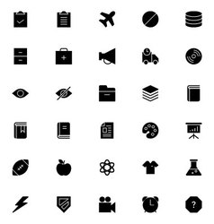 Universal Mobile Line Icons 7 vector