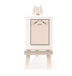 easel paper vector image vector image