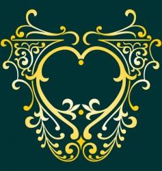 elegant detail vector image
